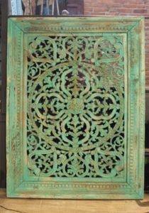 panel zielony