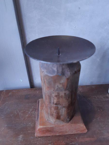 świecznik drewniany unikat (3)