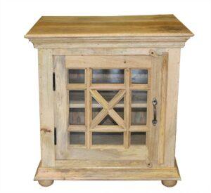 szafka nocna-naturalne drewno